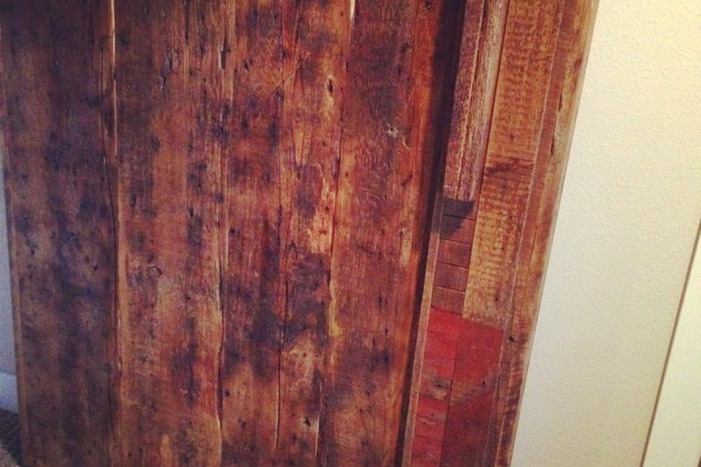 Reclaimed Rustic Pine Barn Door